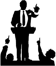candidate_forum_clipart